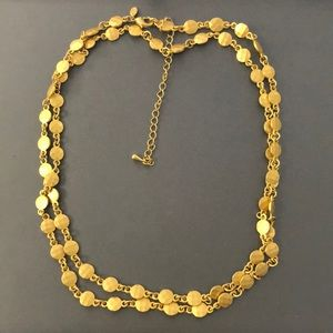 Premier Designs GOLD NECKLACE
